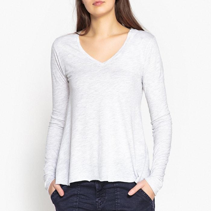 Jacksonville Plain Long-Sleeved V-Neck T-Shirt  AMERICAN VINTAGE image 0