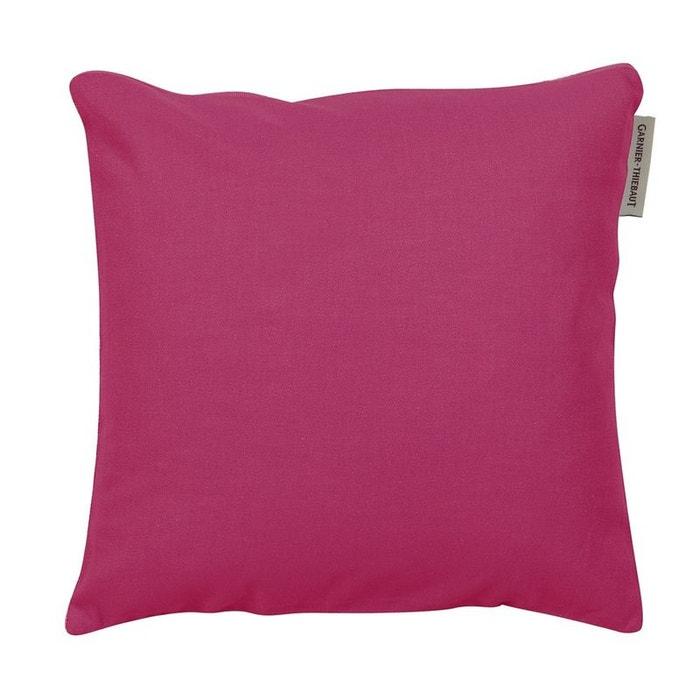 Housse de coussin confettis framboise rose Garnier Thiebaut | La