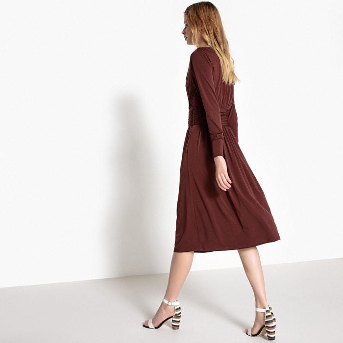 Vestido Redoute la La Collections en entallado y cintura cruzado vzwpndwq