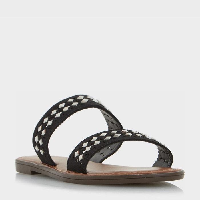Sandales plates à deux brides ornées - luminosa Head Over Heels By Dune ...