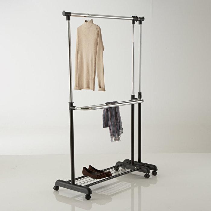 ExtendibleDouble Clothes Rail  La Redoute Interieurs image 0