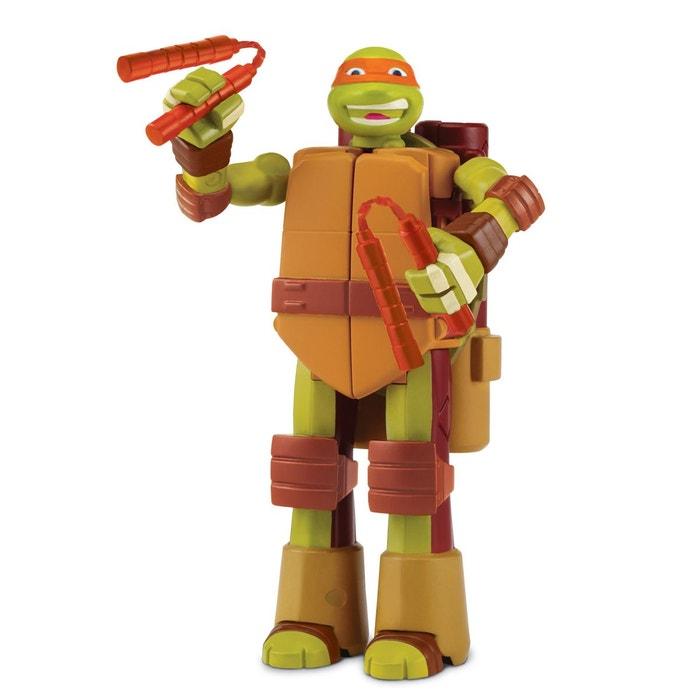 Figurine tortue ninja transformable michelangelo giochi - Michaelangelo tortue ninja ...