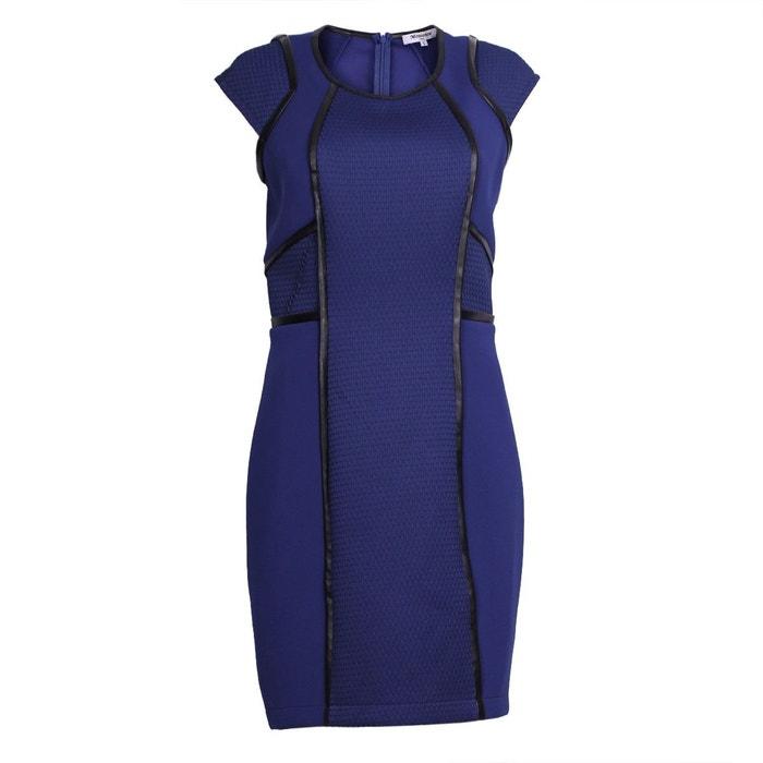 robe de soir e bleu lectrique mouvance la redoute. Black Bedroom Furniture Sets. Home Design Ideas