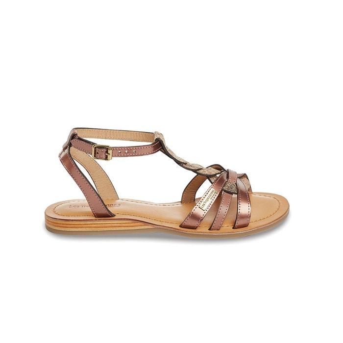 Sandales cuir hams  Les Tropeziennes Par M Belarbi  La Redoute