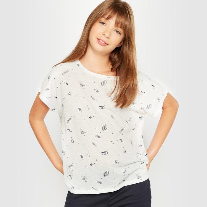 afbeelding Bedrukt T-shirt R pop