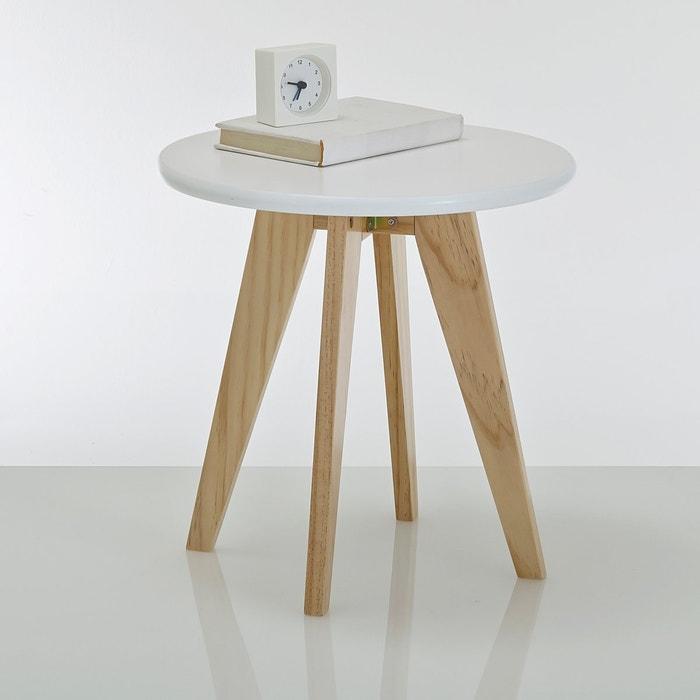 mesinha de cabeceira redonda jimi la redoute interieurs la redoute. Black Bedroom Furniture Sets. Home Design Ideas