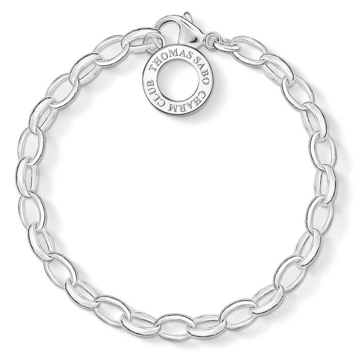 Bracelet charm classic, grand argenté Thomas Sabo | La Redoute