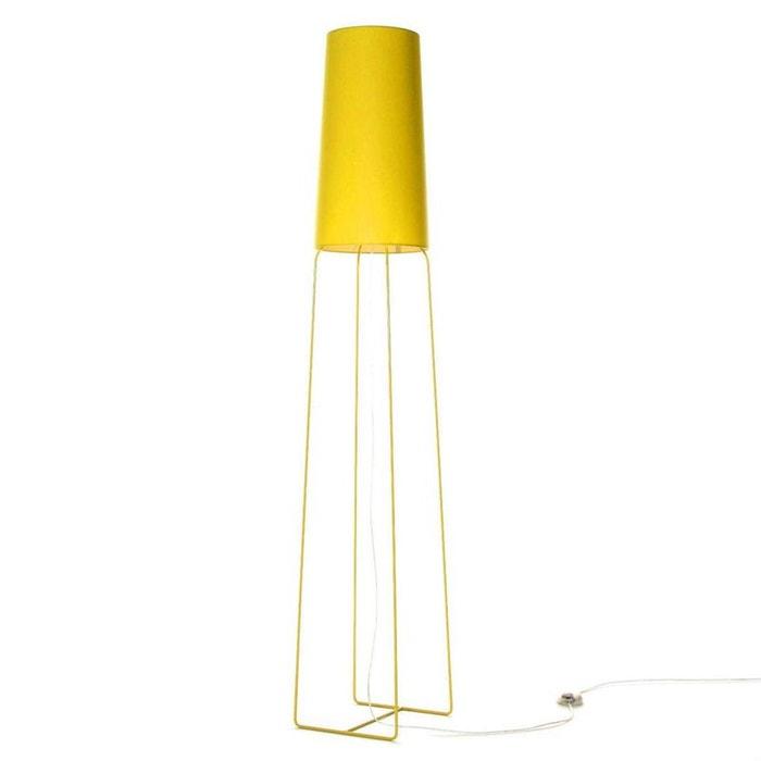 Slimsophie lampadaire jaune 176cm couleur unique fraumaier la redoute - Lampadaires la redoute ...