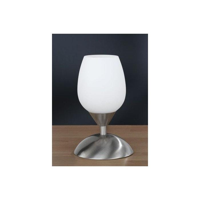 lampe chevet tactile tour d 39 argent blanc millumine la redoute. Black Bedroom Furniture Sets. Home Design Ideas