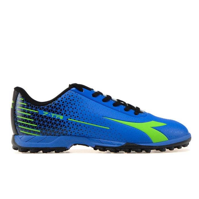 Chaussure de football 7-tri tf  c7362 - bleu-vert-noir de l'acide Diadora  La Redoute