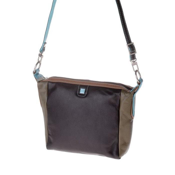 Acheter Pas Cher Avec Une Carte De Crédit Petit sac pour femme multicolore en cuir souple de vachette à bandoulière Dudu | La Redoute Réduction À La Mode z2LliM