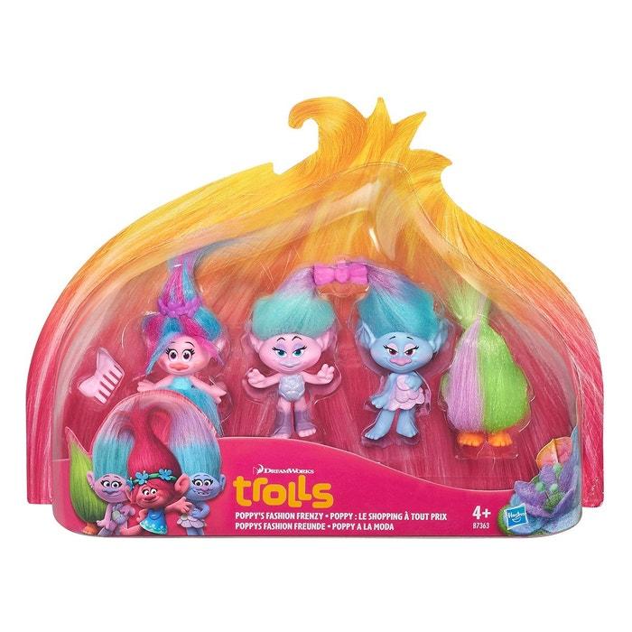 Trolls poppy shopping pack de 4 hasb7363el20 couleur - Code promo la redoute livraison gratuite sans minimum d achat ...