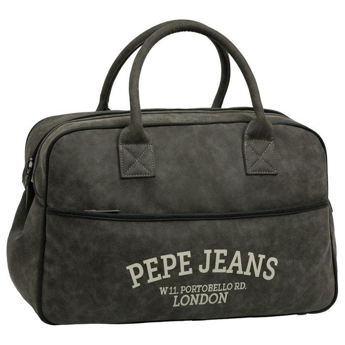 Fiable À Vendre Vente Pas Cher Geniue Stockiste Sac de voyage pépé jeans gris couleur unique Cbk | La Redoute mp3CC5R