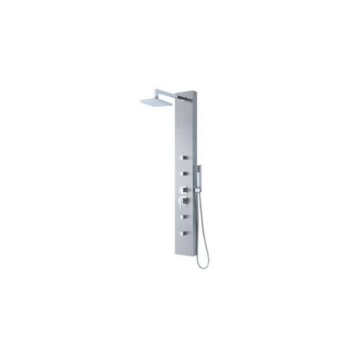 olbia colonne de douche balnéo à micro jets
