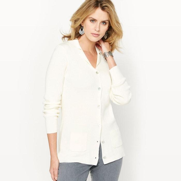 Cardigan-veste, col tailleur ANNE WEYBURN