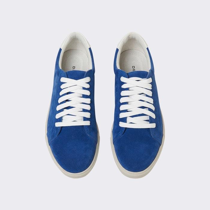 Baskets homme colorées bleu blustone Devred
