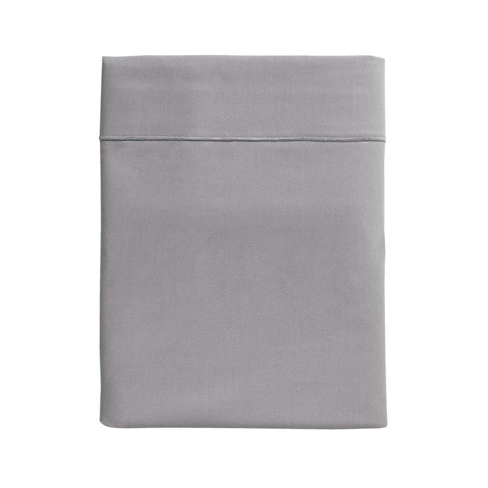 drap plat uni en percale de coton essix la redoute. Black Bedroom Furniture Sets. Home Design Ideas