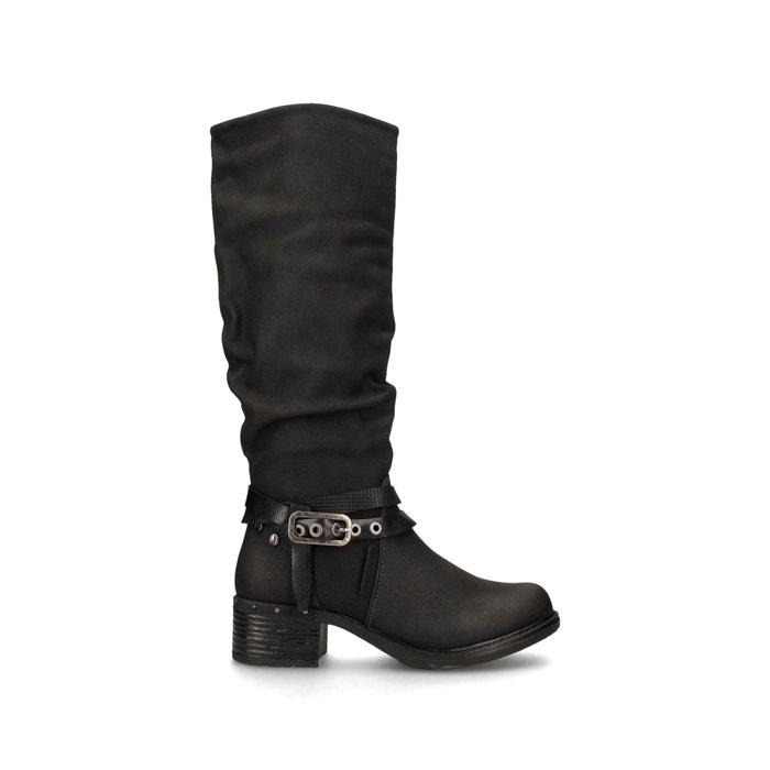 Comprar Bota botas de mujer negras negro Polaina Coolway ANITE Baratas
