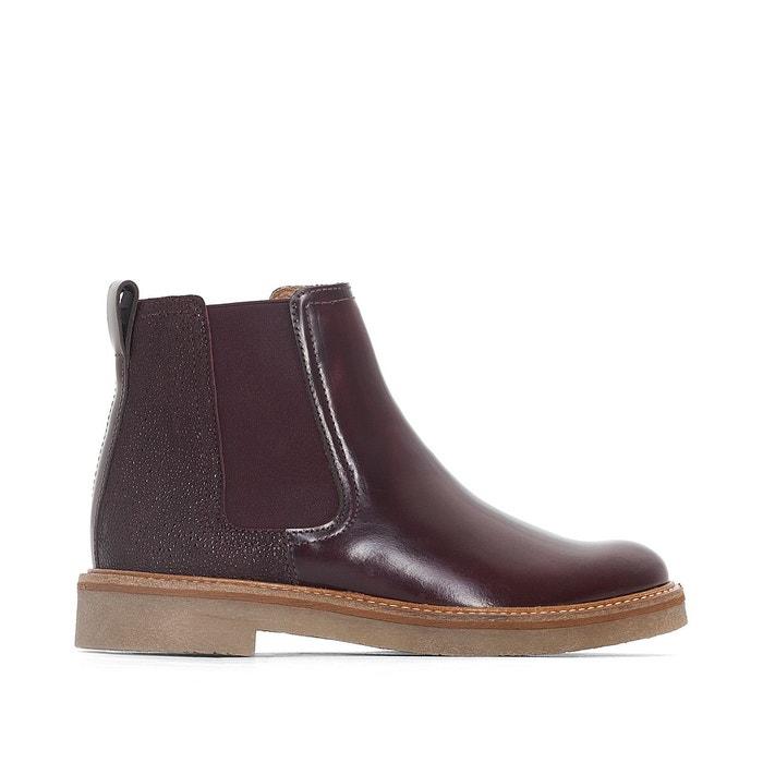 Vente 100% Authentique Parfait Vente Pas Cher Boots cuir oxfordchic bordeaux Kickers Meilleur Achat cS2hAEF