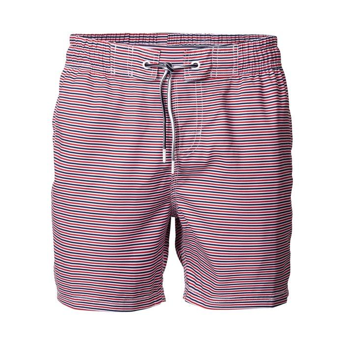 d14c775476 Striped pool swim shorts , blue/red/white, Petrol Industries | La Redoute