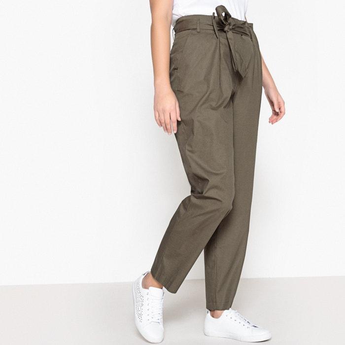 """Paper Bag Trousers, Length 28.3""""  CASTALUNA PLUS SIZE image 0"""