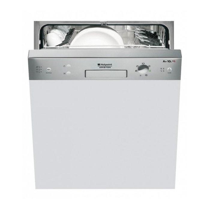 hotpoint lave vaisselle int grable lsb7m116xeu inox inox. Black Bedroom Furniture Sets. Home Design Ideas