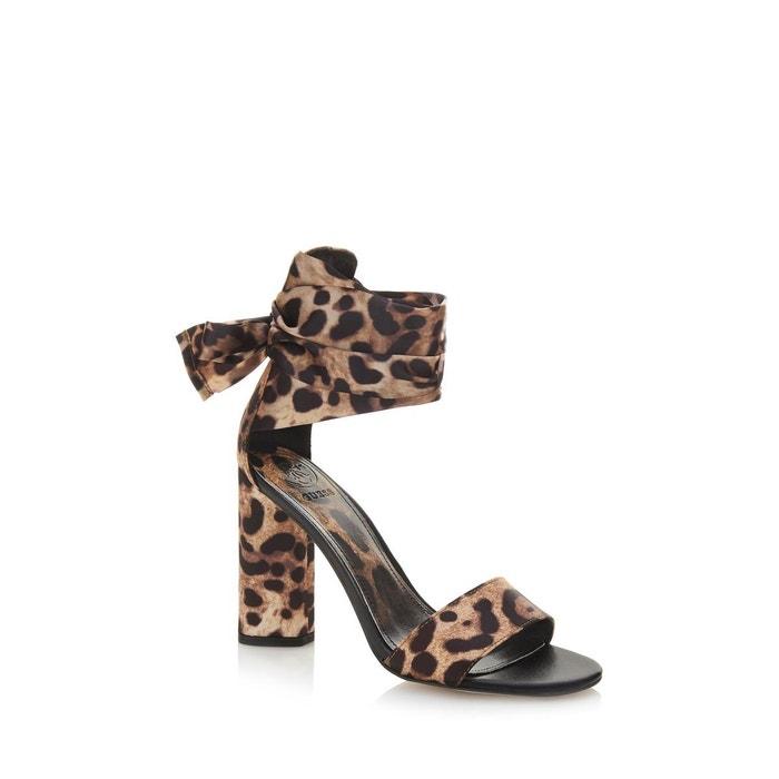 Sandales allison imprimé  léopard Guess  La Redoute