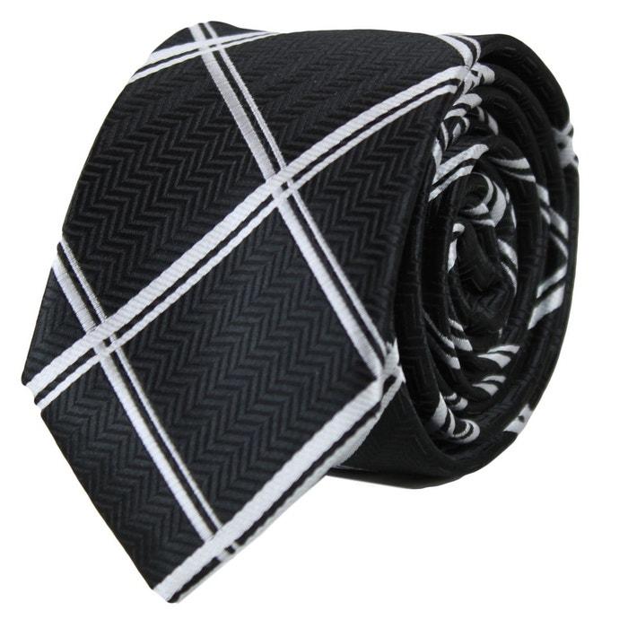 Cravate soie slim noir 50 noir Kebello | La Redoute Édition Limitée En Ligne Pas Cher eWRZSmjK