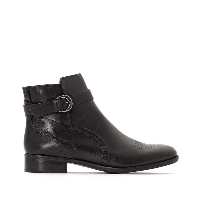 Boots cuir Netley Olivia