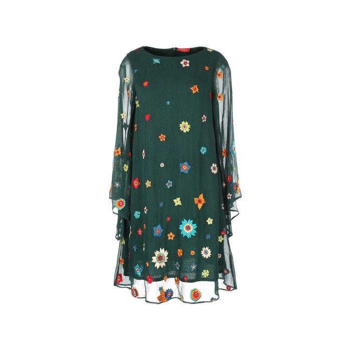 Floral Mesh Style Dress  RENE DERHY image 0