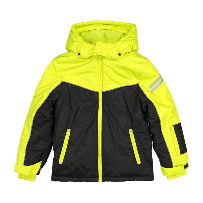 6d75f6ad8 Reflective Fleece-Lined Hooded Ski Jacket, 3-16 Years Reflective  Fleece-Lined