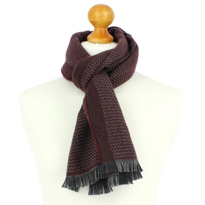 Echarpe en laine d australie, 35x180cm, bordeaux. bordeaux Tony Et ... c3fbc9559e7