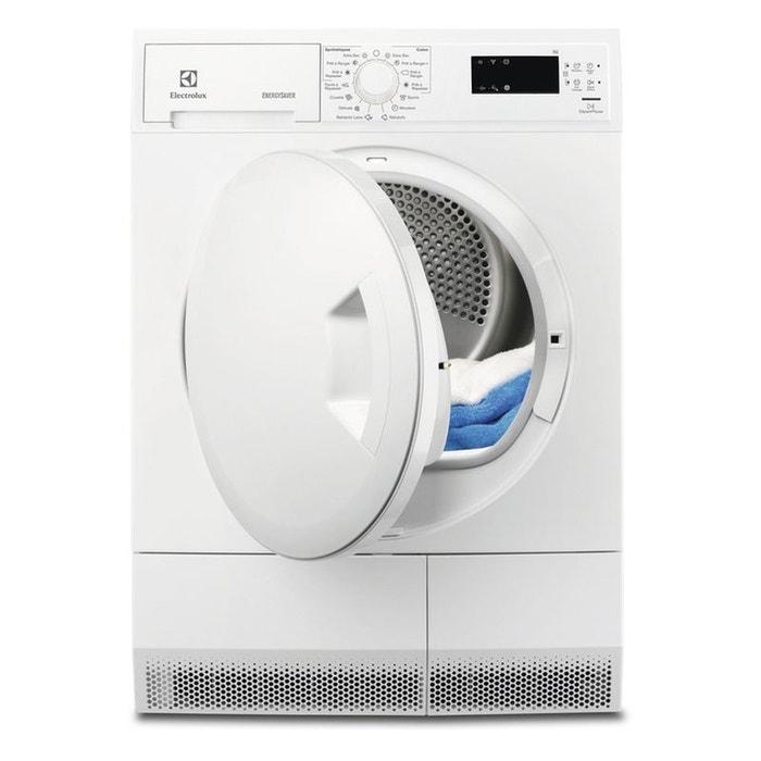 s che linge edh3673pds blanc electrolux la redoute. Black Bedroom Furniture Sets. Home Design Ideas