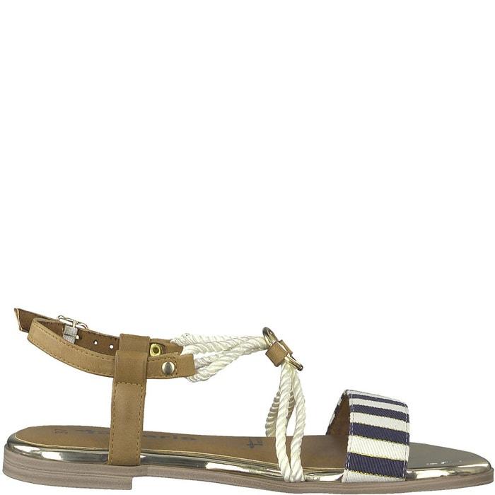 Sandales irene   beige / blanc Tamaris   La Redoute