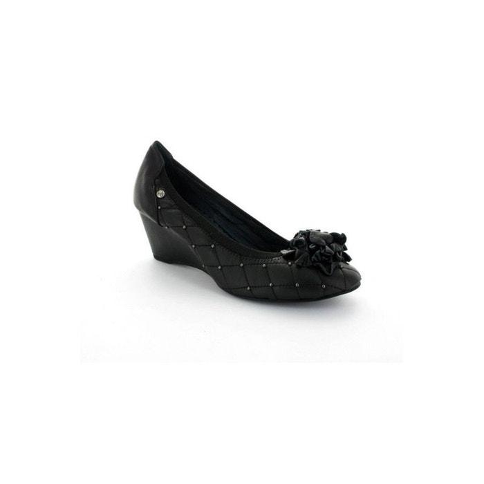 198aefa185aee Ballerine compensée noire couleur pourpre 672 noire Couleur Pourpre ...