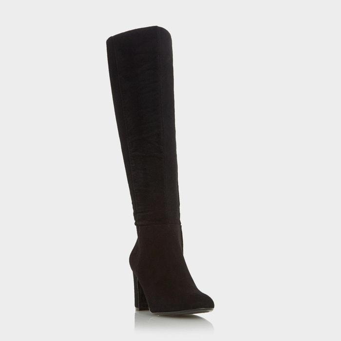 Round toe knee high boot Vente Choisir Un Meilleur Libre Choix D'expédition Vue Pas Cher HhJb54D