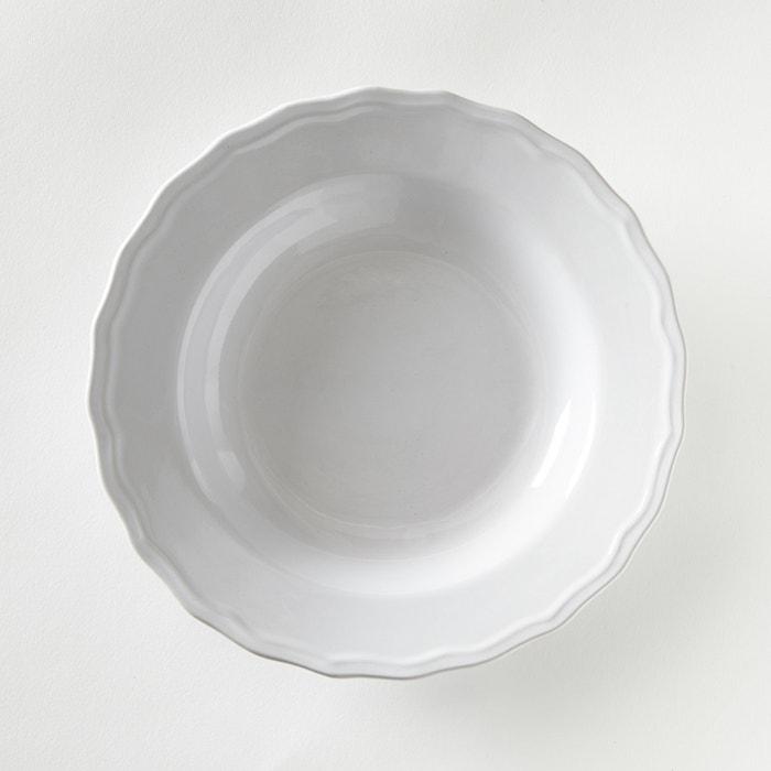 Image Piatto fondo smerlato (confezione da 4), Ajila La Redoute Interieurs