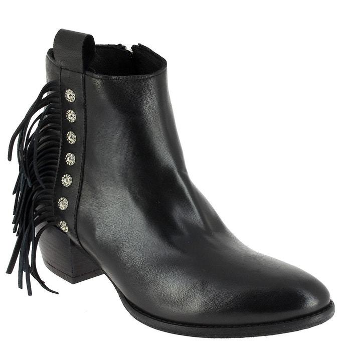 Elizabeth Stuart VAL 329 NOIR - Chaussures Bottine Femme