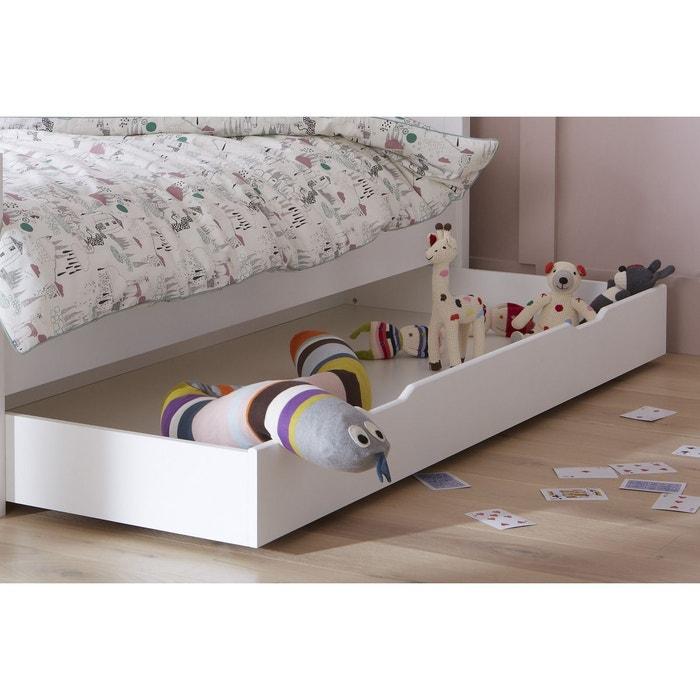tiroir de lit blanc 90x200 pour lit 29cm sous pans blanc alfred et compagnie la redoute. Black Bedroom Furniture Sets. Home Design Ideas