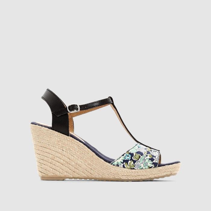 Sandales pare gabia mirage noir + imprimé Pare Gabia