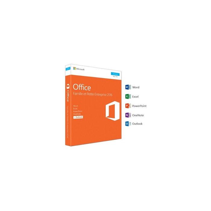 logiciel pc microsoft office famille et entreprise 2016