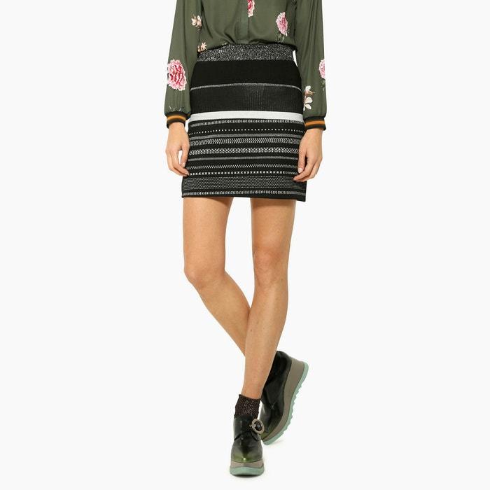 Striped Short Skirt  DESIGUAL image 0