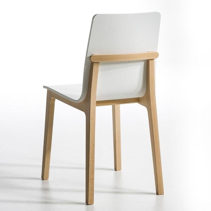 Chaise atitud design e gallina lot de 2 am pm la redoute for Chaises en couleur design