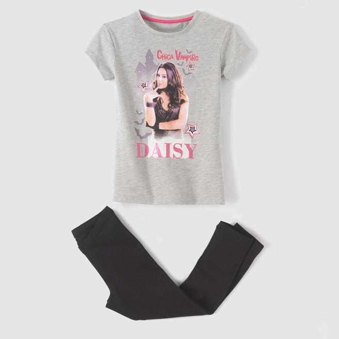 Image Pyjama T-shirt et legging 6 - 12 ans CHICA VAMPIRO