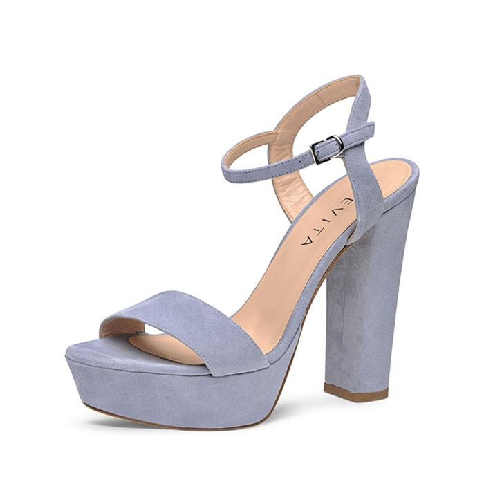 Sandales femme bleu clair Evita