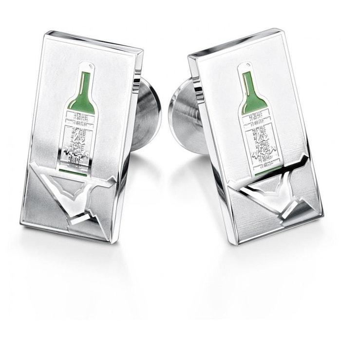 Bouton de manchette wine waiter, eccentric gentleman vert Sonia Spencer | La Redoute