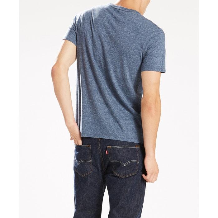 redondo Camiseta corta estampada LEVI'S cuello manga C6qT1O