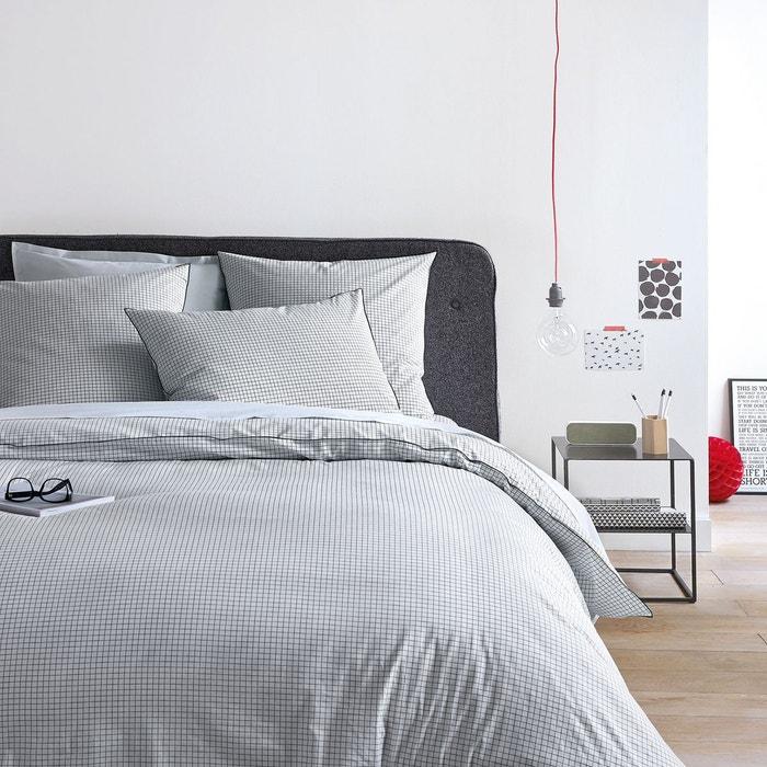 Autre image Taie d'oreiller imprimée percale de coton, Moril La Redoute Interieurs