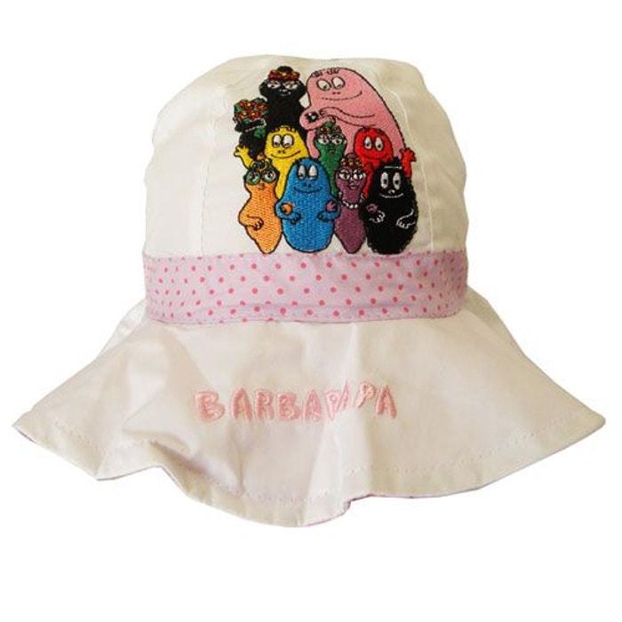 5d5ee605b17 Chapeau barbapapa blanc 2-4 ans Cbk