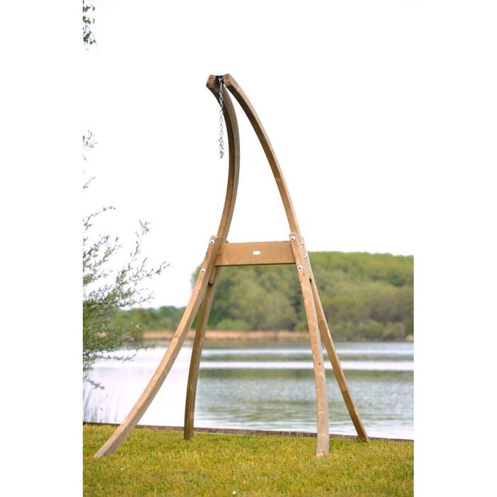 support hamac chaise en bois atlas beige amazonas la redoute. Black Bedroom Furniture Sets. Home Design Ideas